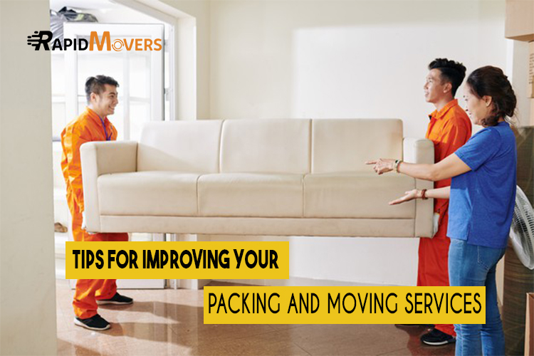 6 Tips For Improvement Of Packing And Moving During Relocation